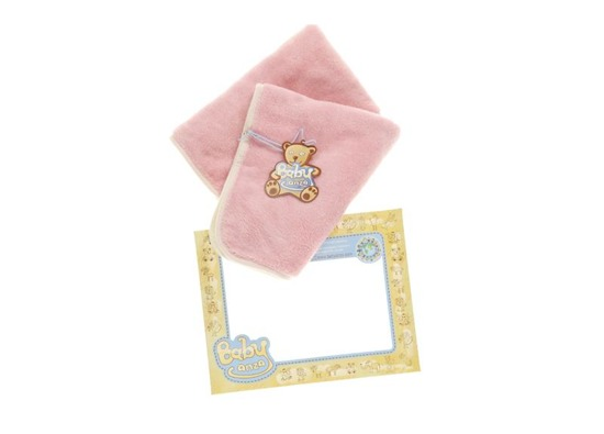 PINK BABY BLANKET smooth