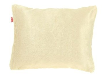 Faux fur pillow MINK cream 40x50 cm