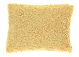 Decorative faux fur pillow ASTER