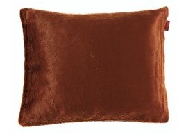Decorative faux fur pillow MINK