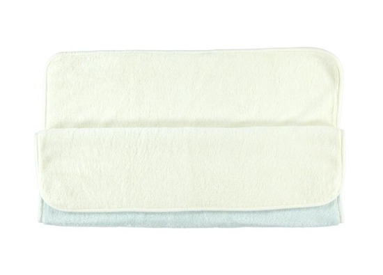 BLUE BABY BLANKET smooth