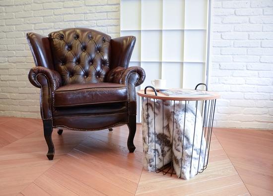 Decorative Faux Fur Set, Bedspread GOAT