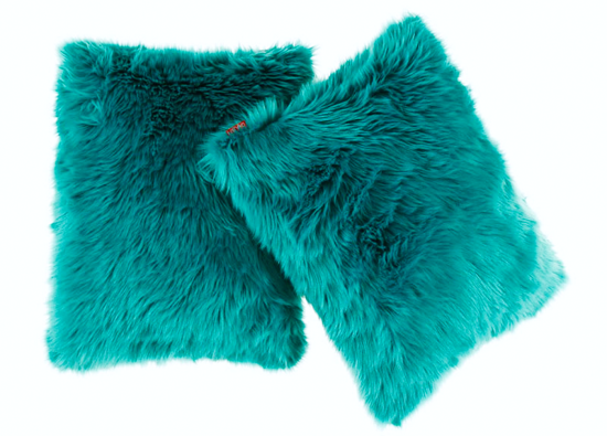 Decorative faux fur set LAGUNA KALA
