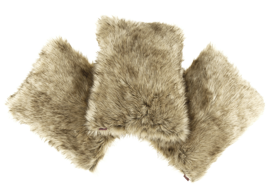 Decorative faux fur pillow GRANDE PINI