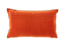 Poduszka Pomarańczowa dekoracyjna z aksamitu JULIA