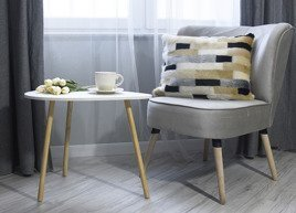 Poduszka dekoracyjna z futra EGIPSKA PIĘKNOŚĆ