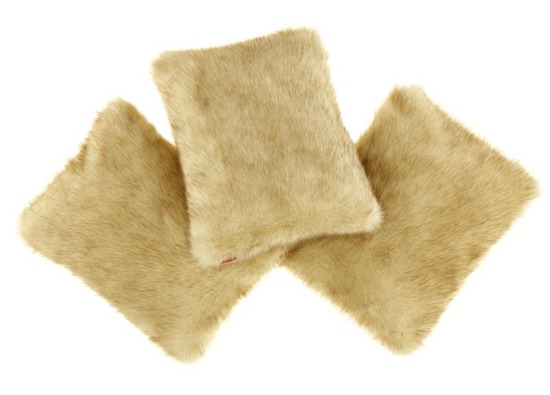 Poduszka dekoracyjna z futra FOXY