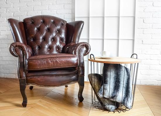 Futrzana poduszka dekoracyjna ROYAL CHINCHILLA czarny 40x50 cm