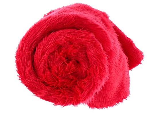 Koc, narzuta FIRE JAZZ czerwony 155x200 cm