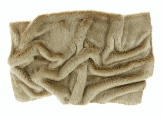 Koc, narzuta KARAKUM beżowy 155x200 cm