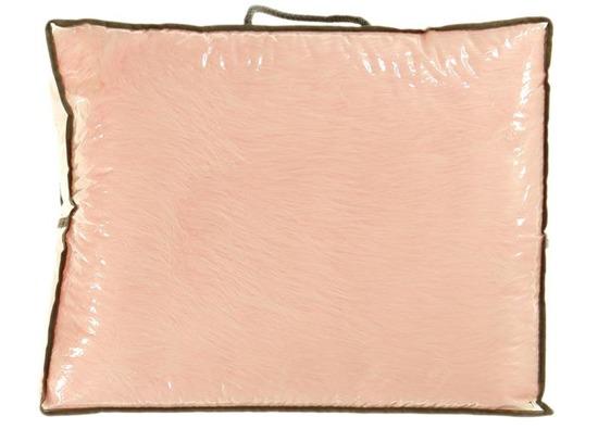 Koc, narzuta LISEK różowy 140x200 cm