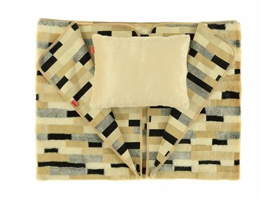 Komplet dekoracyjny futrzany EGIPSKA PIĘKNOŚĆ