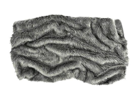 Komplet dekoracyjny futrzany GRANDE PINI brunatny