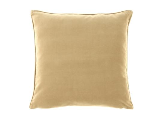 Poduszka z aksamitu ROMEO beżowy 45x45 cm